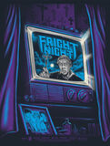 Fright Night Poster Gary Pullin - Purple Variant limited ed 50