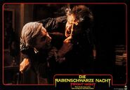 Fright Night 1985 German Lobby Card 11 Roddy McDowall Stephen Geoffreys