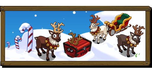 Mystery Reindeer Banner