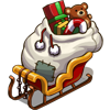 Packed Sleigh-icon