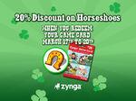 St. Patrick's Day Horseshoe Discount Loading Screen