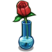 Red Rose Vase-icon