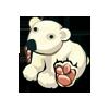 Yellow Polar Bear-icon