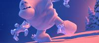 Olaf versus Marshmallow