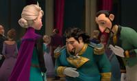 Elsa and dignitaries