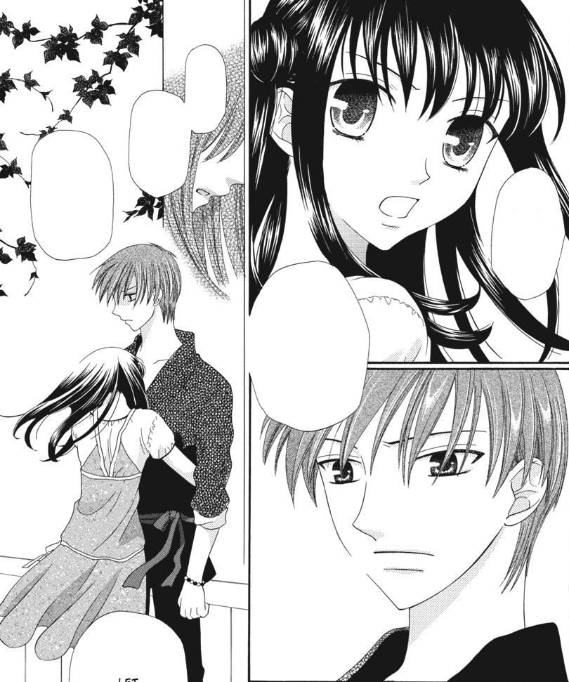 MAKE YOU CRY MONDAY Rin Sohma And Tohru Honda