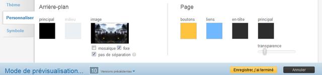 Fichier:Concepteur de thème - onglet Personnaliser.png
