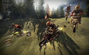 Dirtbike race