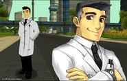 Fusion Fall Prof. Utonio