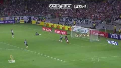 Gols Atlético-MG 4 x 1 Flamengo 60 fps - Copa do Brasil 2014 - Globo HD