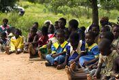 Schoolchildren in Malawi