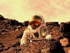AstronautOnMars