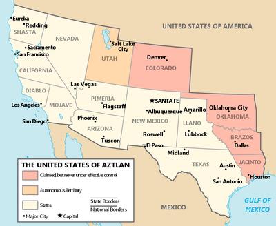 Aztlan States