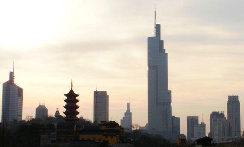 Nanjing Skyline 2010