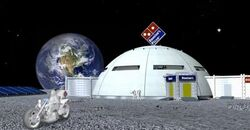 Dominos-in-space