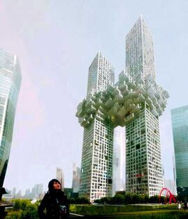 South-korea-towers-resemble-world-trade-center-explosion