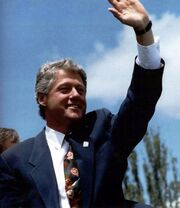 Bill Clinton visit to Los Alamos