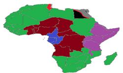 Africn Continet wa