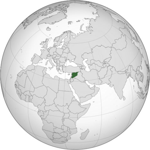 File:Map of Syria (orthographic projection).png