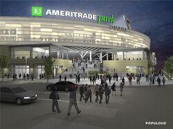 Omaha Sounders home arena