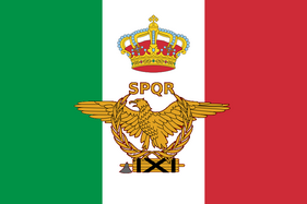 Flag of the New Roman Empire or Italy