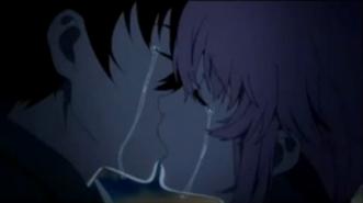 Yuno&Yuki's last kiss