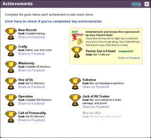 H2k9 achievements nowin