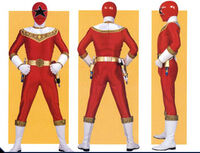 Red Zeo Ranger Form