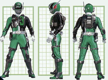 Power Rangers Spd Shadow Ranger Swat Mode