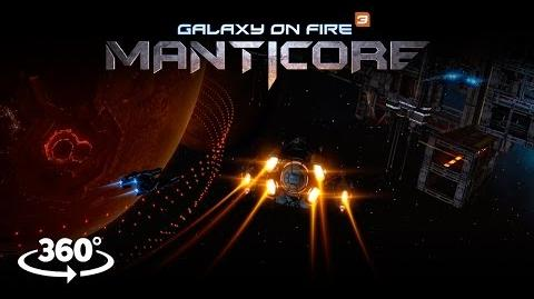 Galaxy on Fire 3 - Manticore (In-game 360° Experience)