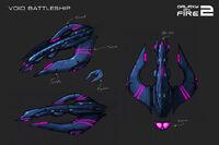 Galaxy on Fire 2 Void Battleship