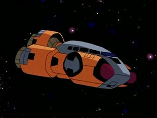Cybertronian Emergency Shuttle