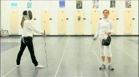 Foil Fencing Attacks The Coupe & Foil Fencing