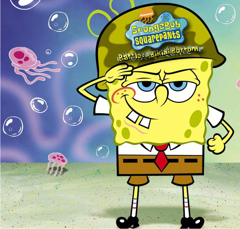 Spongebob battel for bikini