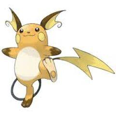 Raichu, the Mouse Pokemon!