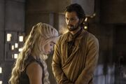 Dany and Daario in Meeren