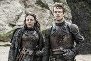 Theon and yara promo 6x5
