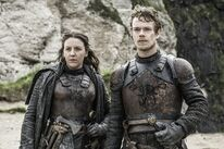 Theon and yara promo 6x5