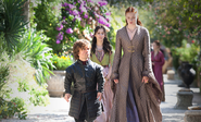 Shae Sansa and Tyrion Mhysa