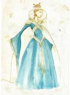 Cersei costume Season 1 concept art 2