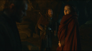Melisandre with thoros and beric