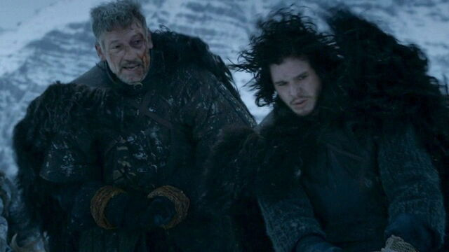 File:Halfhand and Jon Snow.jpg