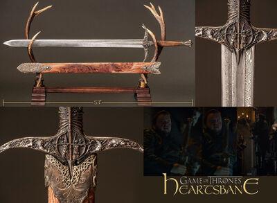 Heartsbane Valerian Sword Game Of Thrones Wiki