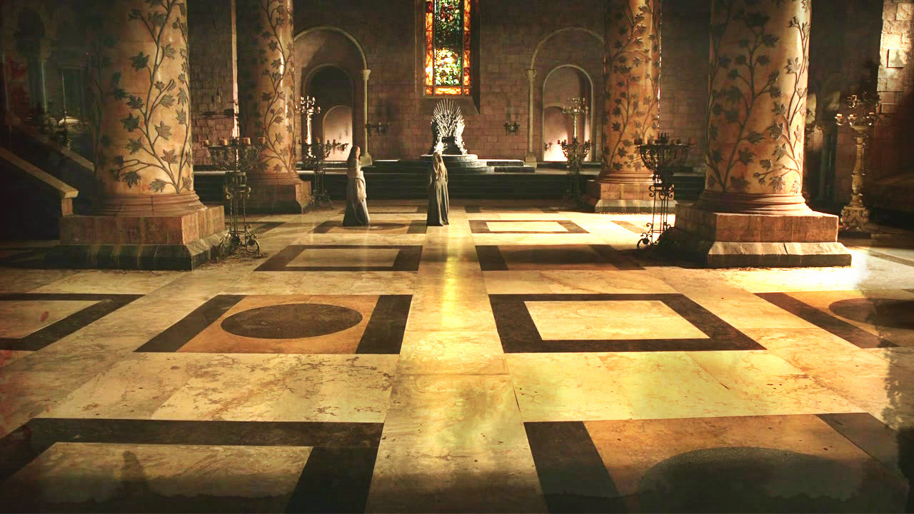 Game Of Throne Map Room