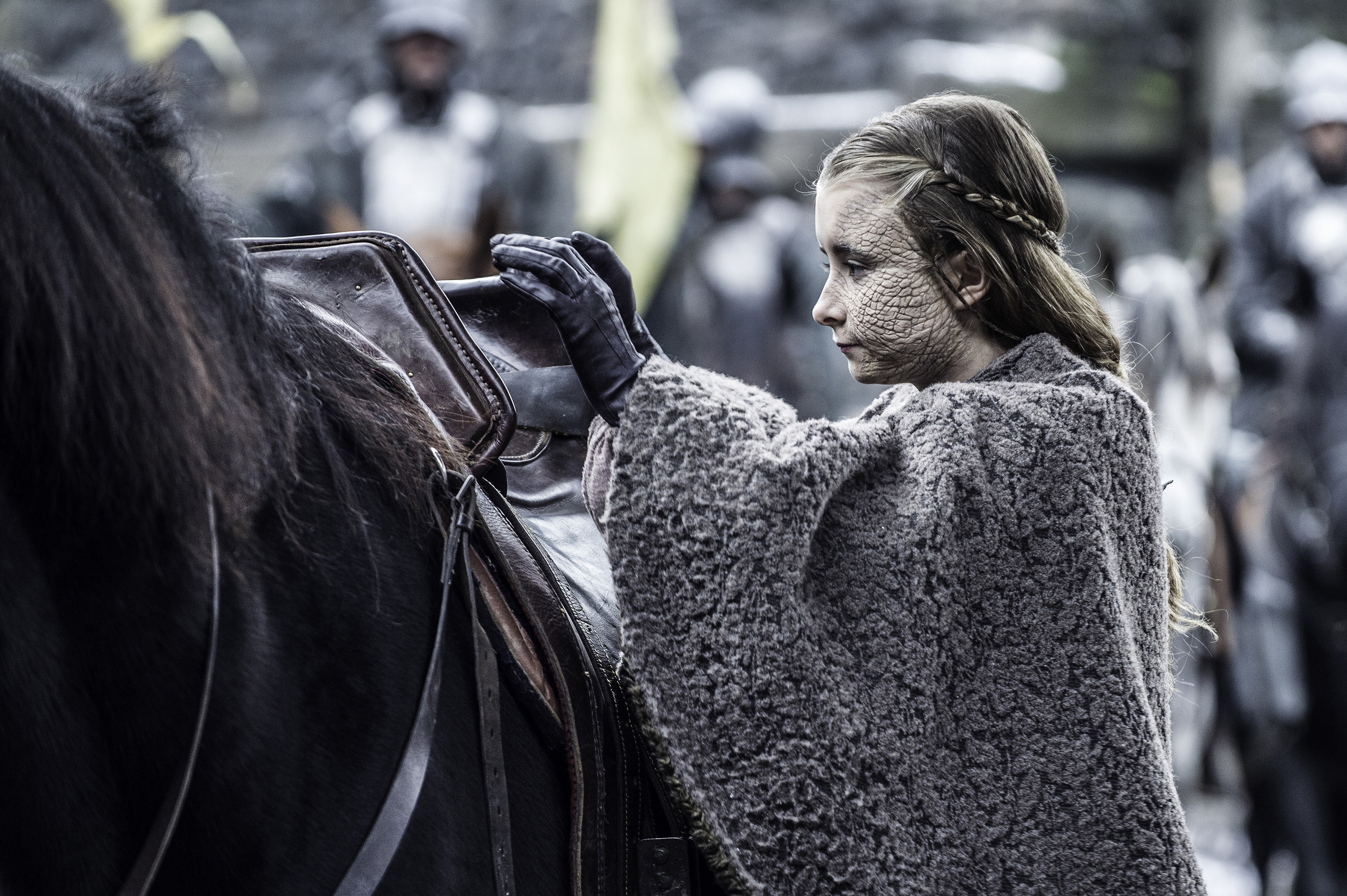 Image result for game of thrones season 5 shireen