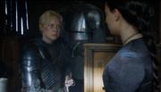 Brienne swears to Sansa.