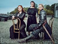 EW Sansa Arya Brienne