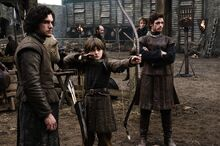 Jon, Bran and Robb