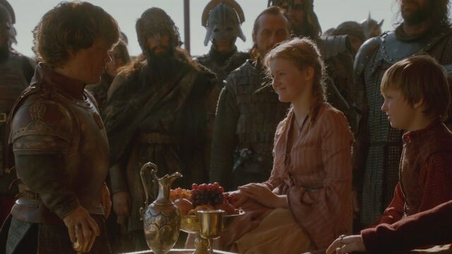 File:Tyrion greets Myrcella and Tommen The North Remembers.jpg
