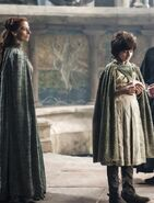 Robin arryn and mother Season 4